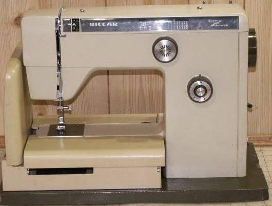 riccar 808e sewing machine