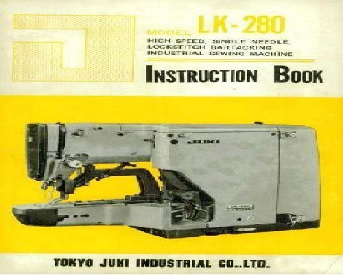 juki industrial sewing machine manual