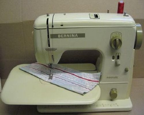 Bernina sewing machine instructions for Machine a coudre 807