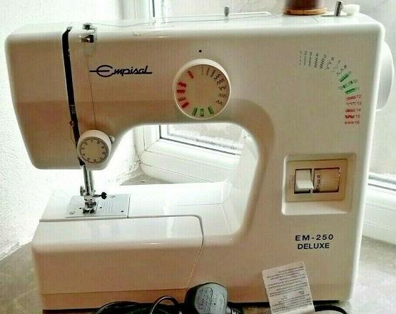 User manual for empisal em250 sewing machine   junk mail.