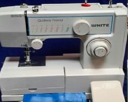 white jeans machine sewing machine model 1888 manual
