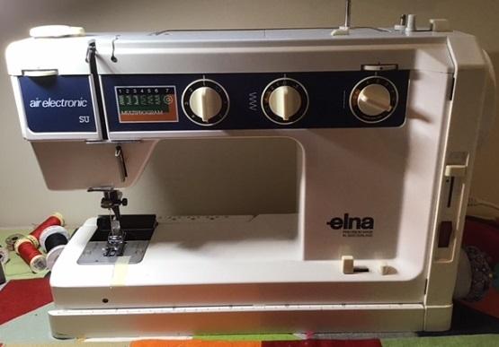 Elna SU Air Electronic Sewing Machine Parts Accessories Attachments Gorgeous Elna Su Sewing Machine