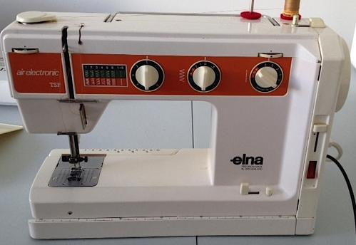 Elna TSP Air Electronic Sewing Machine Parts Accessories Attachments New Elna Air Electronic Tsp Sewing Machine Manual