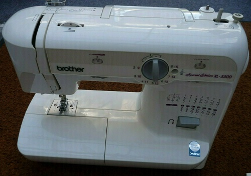 Brother XL 40 Sewing Machine Parts Accessories Attachments Magnificent Brother Special Edition Xl 5500 Sewing Machine