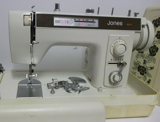 Jones 40 Sewing Machine Parts Accessories Attachments Delectable Jones Sewing Machine Manual