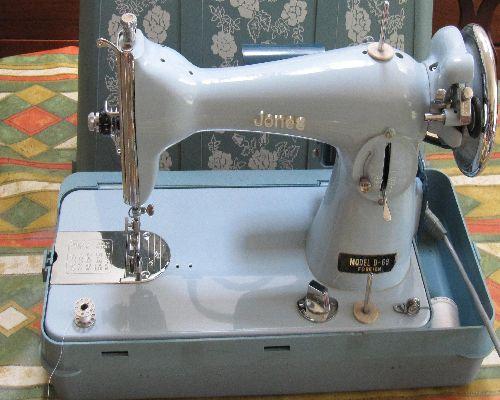 Jones Model D40 Sewing Machine Supplies Best Jones Sewing Machine