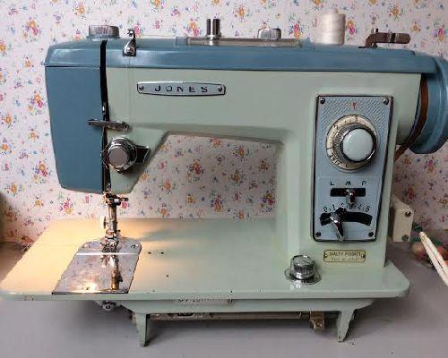 Jones JA 40 Sewing Machine Parts Accessories Attachments Classy Jones Sewing Machine