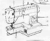 Jones Vx 620 Sewing Machine Parts Accessories Attachments
