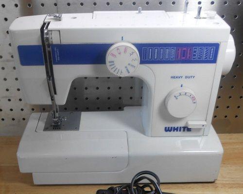 White 40 Sewing Machine Supplies Impressive White Heavy Duty Sewing Machine Model 1866