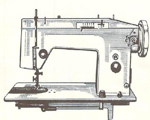 Jones Sewing Machine Instructions